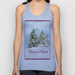 Peace On Earth Unisex Tank Top