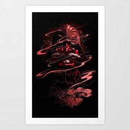 Bloodbath Art Print
