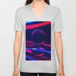 The Light Painter 2 Unisex V-Neck