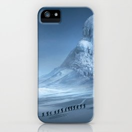 Travel On Fantasy Planet iPhone Case