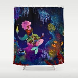 Girl, I got you! Shower Curtain