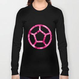 Rose Quartz Candy Gem Long Sleeve T-shirt