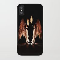 bat iPhone & iPod Cases featuring bat by new art