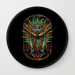 S'Owl Keeper Wall Clock