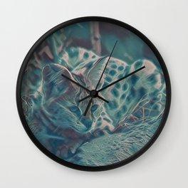 Focused IV Wall Clock
