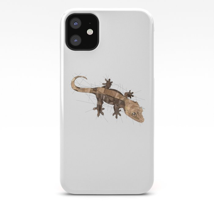 Crested Gecko iPhone Case by thelizlords