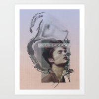 DAVID MARINOS x NICHOLAS BALLESTEROS Art Print