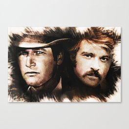 Butch and Sundance Canvas Print