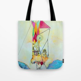 Triangulation Tower Tote Bag