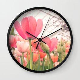 Always look (Tul)Up! Wall Clock