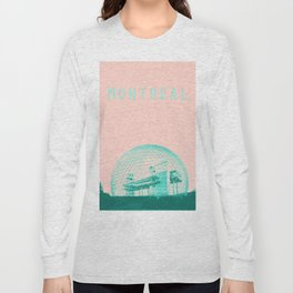 Montreal Biosphere Pastel Long Sleeve T-shirt
