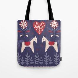 Swedish Christmas Tote Bag