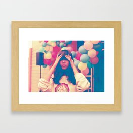Balkis Framed Art Print