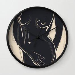 Abstract Art Nude 5 Wall Clock