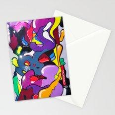 graffiti art Stationery Cards
