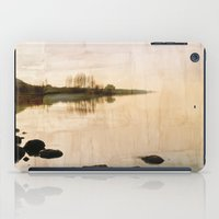 lake iPad Cases featuring lake by laika in cosmos