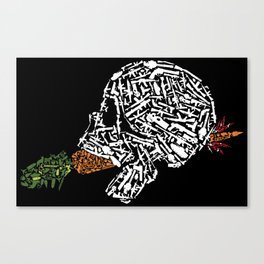 Eat Your Vegetables Canvas Print