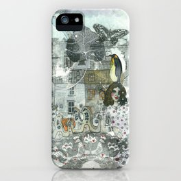 """A Woman in the Old Town"" iPhone Case"