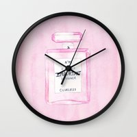 clueless Wall Clocks featuring Clueless Design Co. by MidnightCoffee