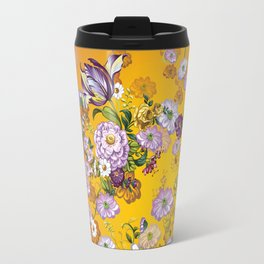 Purple Flowers III Travel Mug