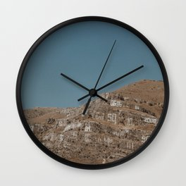Number Hill Wall Clock