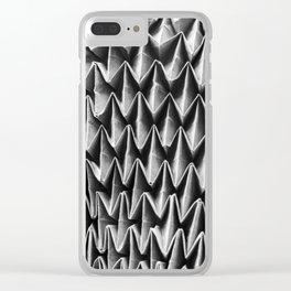 Folded Structures – Gefaltete Strukturen Clear iPhone Case