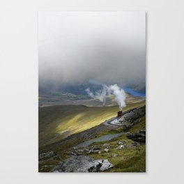 Snowdonia Mountain Railway Canvas Print
