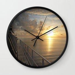 Carnival Dream - Sunrise Wall Clock