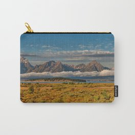 The Grand Tetons Panorama Carry-All Pouch