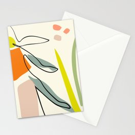 minimal garden Stationery Cards