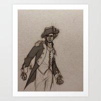 Lafayette Art Print