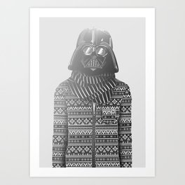 The Most Stylish Couple in Galactic 1 Art Print