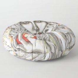 Bad Snow White Floor Pillow