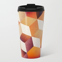 Oil Slick Cubes Travel Mug