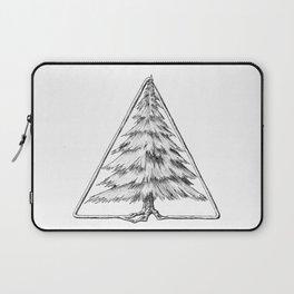 Tree in Triangle Laptop Sleeve