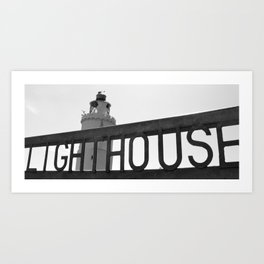 Start Point Lighthouse Art Print