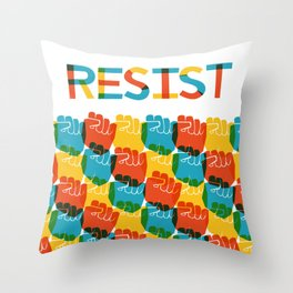 Resist Throw Pillow