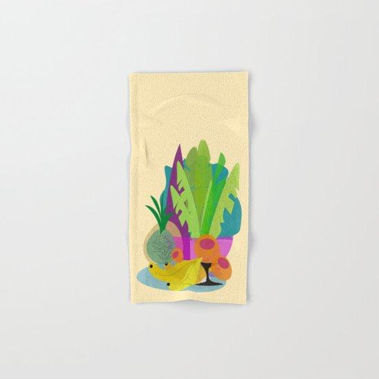 Tropical Breakfast Hand & Bath Towel
