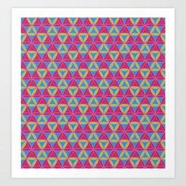 Magic Triad Pattern 2 Art Print