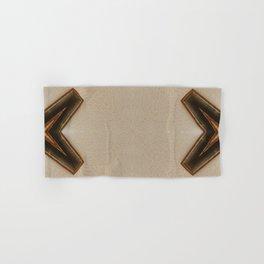 abstract art arrows pattern Hand & Bath Towel