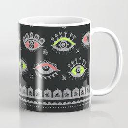 Eye Spy Neon Coffee Mug
