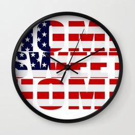 Home Sweet Home (America) Wall Clock