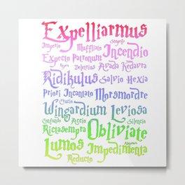 Magic spelling Metal Print