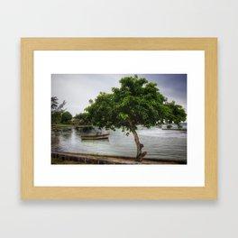 Cap Malheureux, Mauritius Framed Art Print