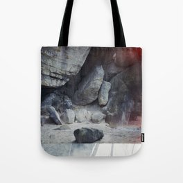 travelling east into the past Tote Bag