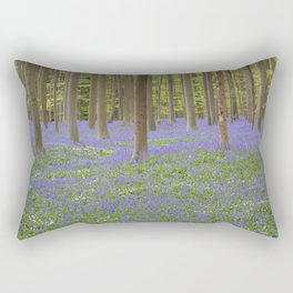 Bluebell Forest 3 Rectangular Pillow
