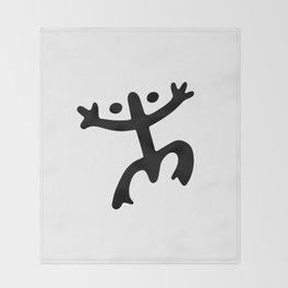 Coqui Taino Throw Blanket