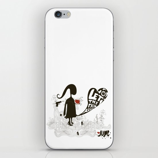 Let the pain begin iPhone & iPod Skin
