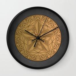 THE WANDERER'S MARK Wall Clock