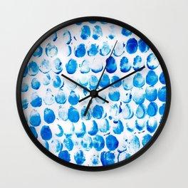 Cerulean Wall Clock